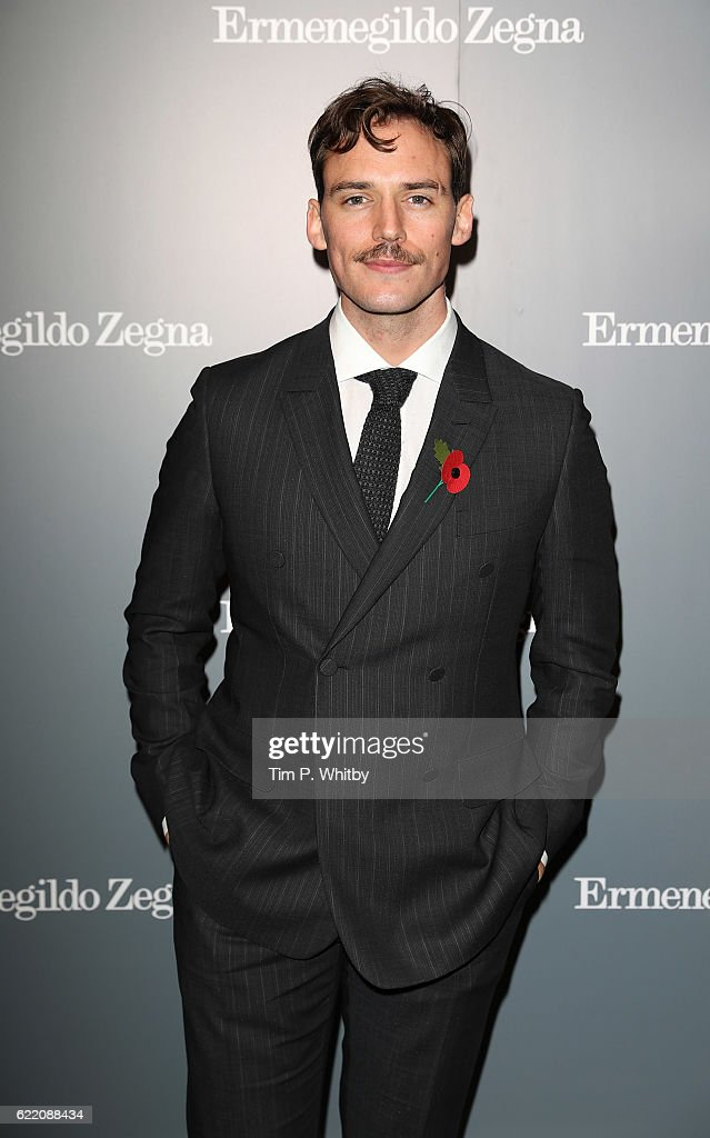 Sam Claflin attends the opening of Ermenegildo Zegna new boutique in London at Ermenegildo Zegna Boutique on November 9, 2016 in London, England.