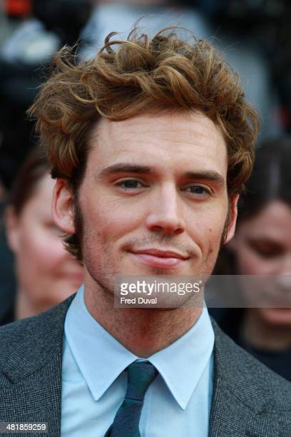 Sam Claflin attends the UK film premiere of 'The Quiet Ones' at Odeon West End on April 1 2014 in London England