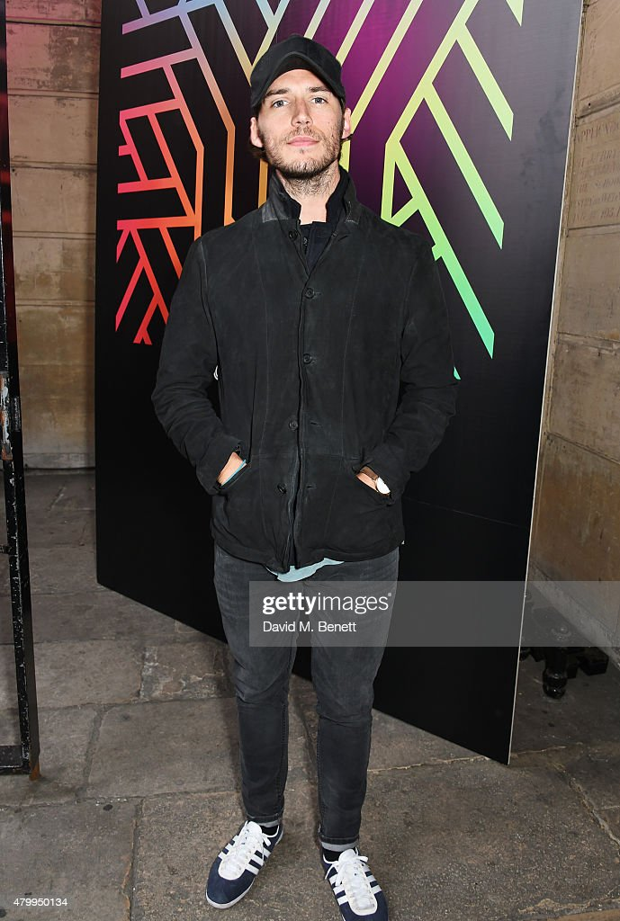 Sam Claflin attends the Years Years VIP album launch party in association with ASOS at One Mayfair on July 8 2015 in London England