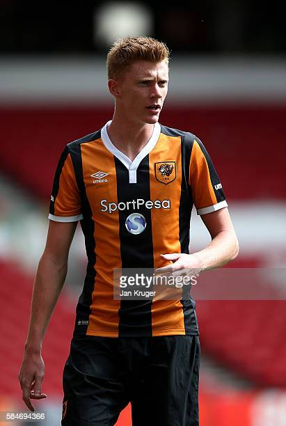 Sam Clucas of Hull City during the preseason friendly match between Nottingham Forest and Hull City at City Ground on July 30 2016 in Nottingham...