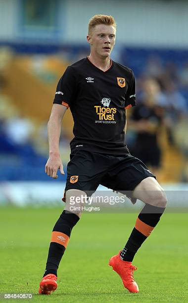Sam Clucas of Hull City during the preseason friendly match between Mansfield Town and Hull City at the One Call Stadium on July 19 2016 in Mansfield...