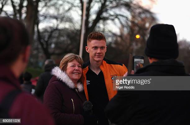 Sam Clucas of Hull City poses for a photo prior to the Premier League match between Hull City and Manchester City at KCOM Stadium on December 26 2016...