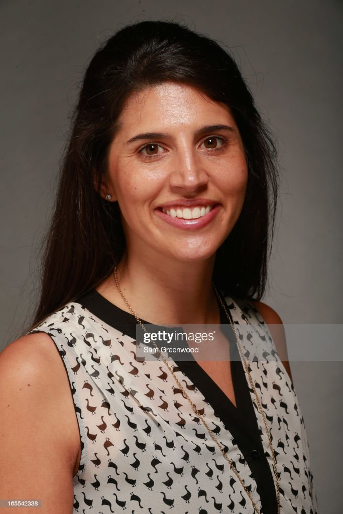 Sam Coghill, VP of W Partners poses at the World Congress Of Sports Executive Portrait Studio on April 4, 2013 in Naples, Florida.