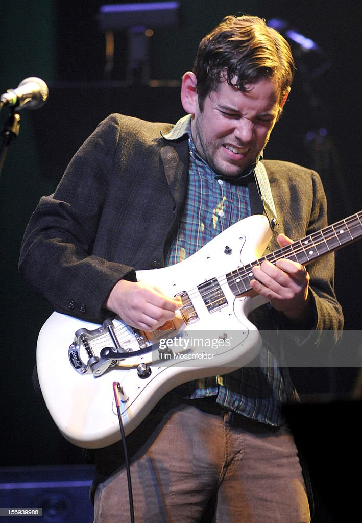 Sam Cohen performs during The Last Waltz Tribute Concert at The Warfield on November 24, 2012 in San Francisco, California.