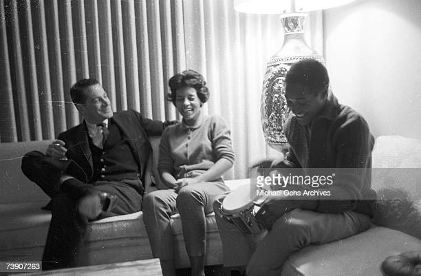 Sam Cooke his wife Barbara Cooke and a man on November 30 1960 in Los Angeles California