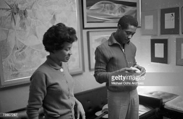 Sam Cooke his wife Barbara Cooke on November 30 1960 in Los Angeles California