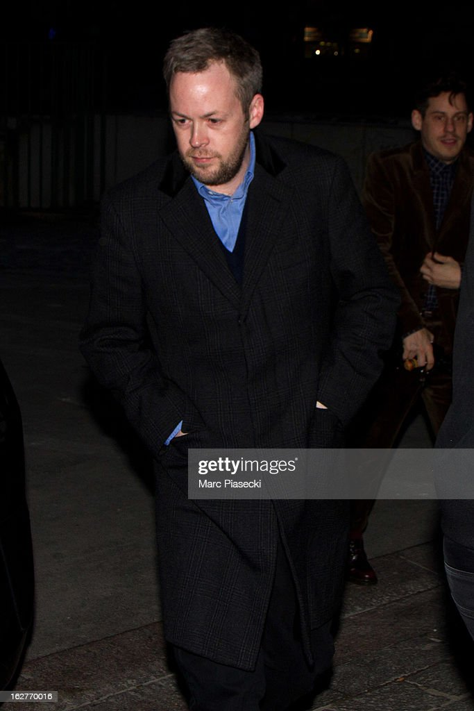 Sam Cooper is sighted arriving at the 'ETAM Girls Only' fashion show on February 26, 2013 in Paris, France.