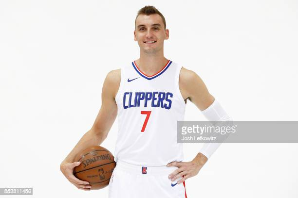 Sam Dekker of the Los Angeles Clippers poses for a photo during media day at the Los Angeles Clippers Training Center on September 25 2017 in Playa...