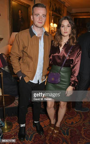 Sam Doyle and Sai Bennett attend the PORTER Lionsgate UK after party for 'Film Stars Don't Die In Liverpool' at Mark's Club on October 12 2017 in...