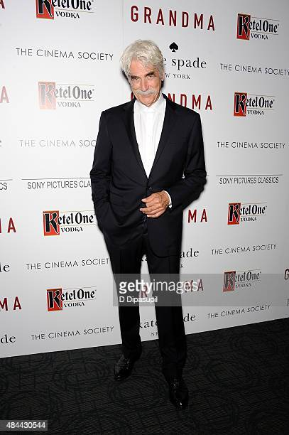 Sam Elliott attends Sony Pictures Classics' screening of 'Grandma' hosted by The Cinema Society and Kate Spade at Landmark Sunshine Cinema on August...