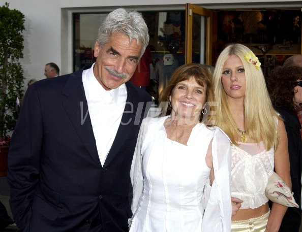 sam elliott katharine ross daughter during world premiere