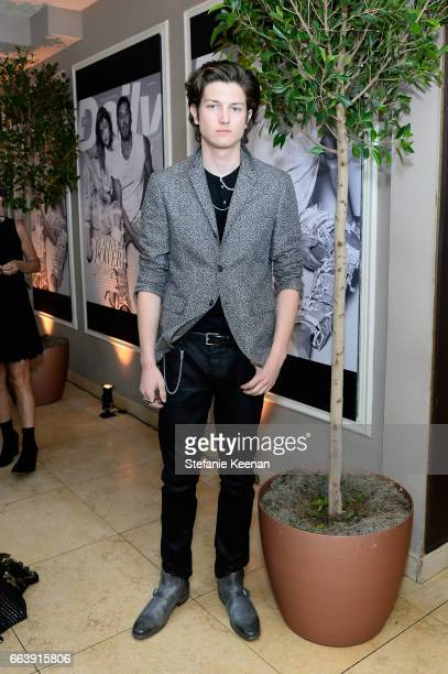 Sam Evans attends the Daily Front Row's 3rd Annual Fashion Los Angeles Awards at Sunset Tower Hotel on April 2 2017 in West Hollywood California