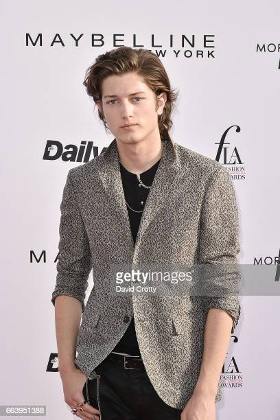 Sam Evans attends the Daily Front Row's 3rd Annual Fashion Los Angeles Awards Arrivals at Sunset Tower Hotel on April 2 2017 in West Hollywood...