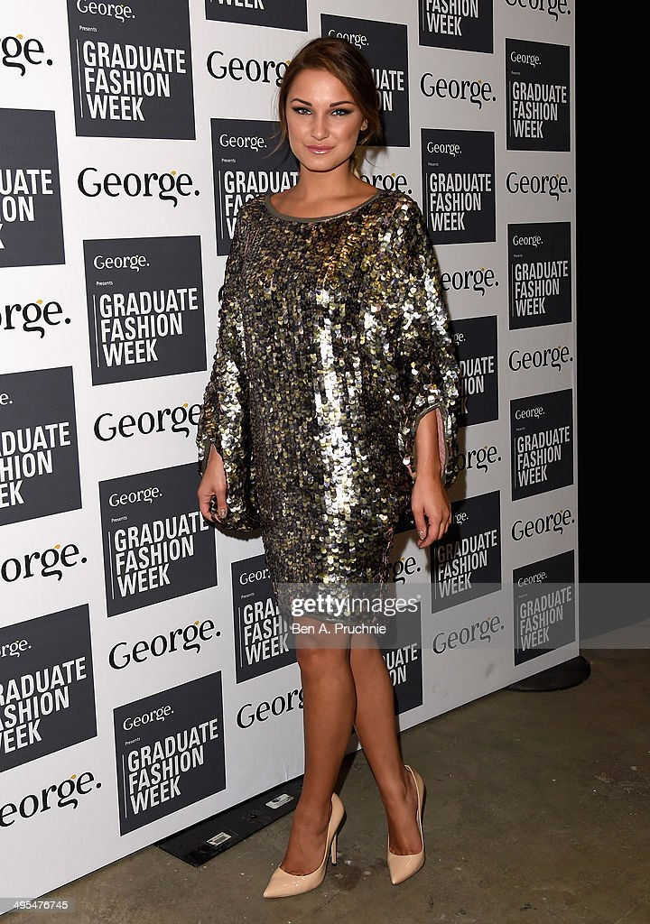 <a gi-track='captionPersonalityLinkClicked' href=/galleries/search?phrase=Sam+Faiers&family=editorial&specificpeople=7324872 ng-click='$event.stopPropagation()'>Sam Faiers</a> attends the Graduate Fashion Week awards show during day 4 of Graduate Fashion Week 2014 at The Old Truman Brewery on June 3, 2014 in London, England.