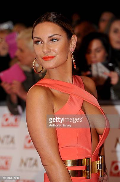 Sam Faiers attends the National Television Awards at 02 Arena on January 21 2015 in London England