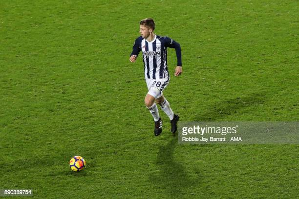 Sam Field of West Bromwich Albion during the Premier League match between West Bromwich Albion and Crystal Palace at The Hawthorns on December 2 2017...