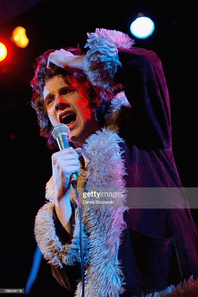 Sam France of Foxygen performs at Metro on December 9, 2012 in Chicago, Illinois.