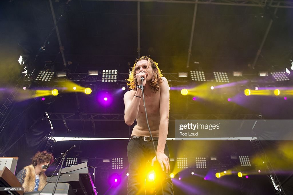 Sam France of Foxygen performs at Pemberton Music Festival on July 20, 2014 in Pemberton, Canada.