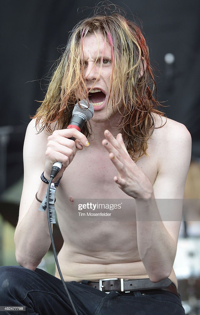Sam France of Foxygen performs during the Pemberton Music and Arts Festival on July 20, 2014 in Pemberton, British Columbia.