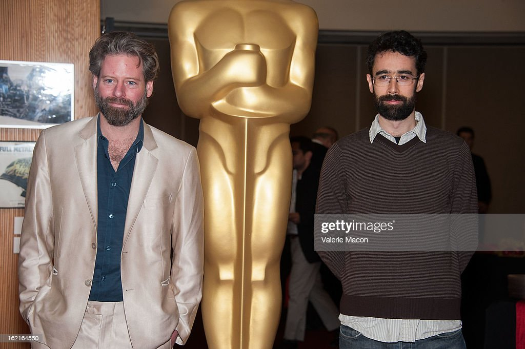Sam French and Ariel Nasr attend The Academy Of Motion Picture Arts And Sciences Presents Oscar Celebrates: Shorts at AMPAS Samuel Goldwyn Theater on February 19, 2013 in Beverly Hills, California.