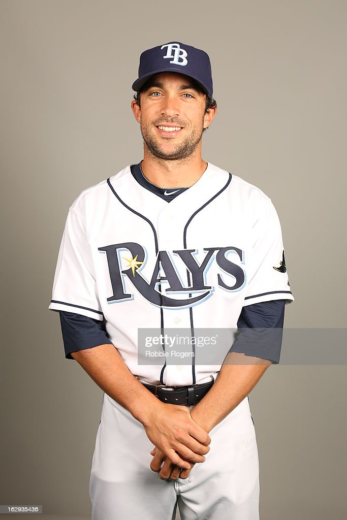 Sam Fuld #5 of the Tampa Bay Rays poses during Photo Day on February 21, 2013 at Charlotte Sports Park in Port Charlotte, Florida.