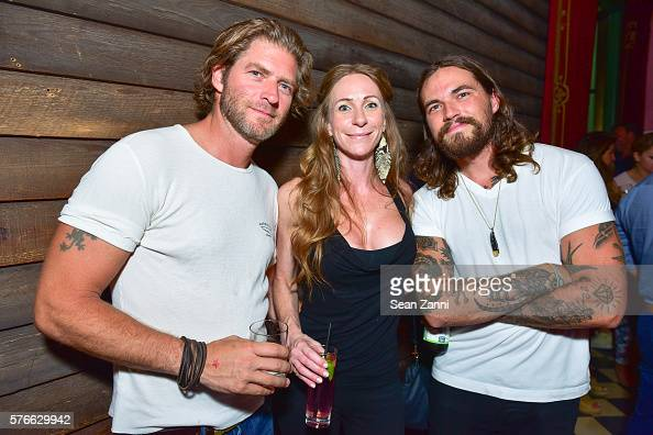 Sam Glen Kate Glen and Matthew Green attend Esquire's Michael Stefanov Celebrates New York Fashion Week Men's Featuring a Musical Performance by...