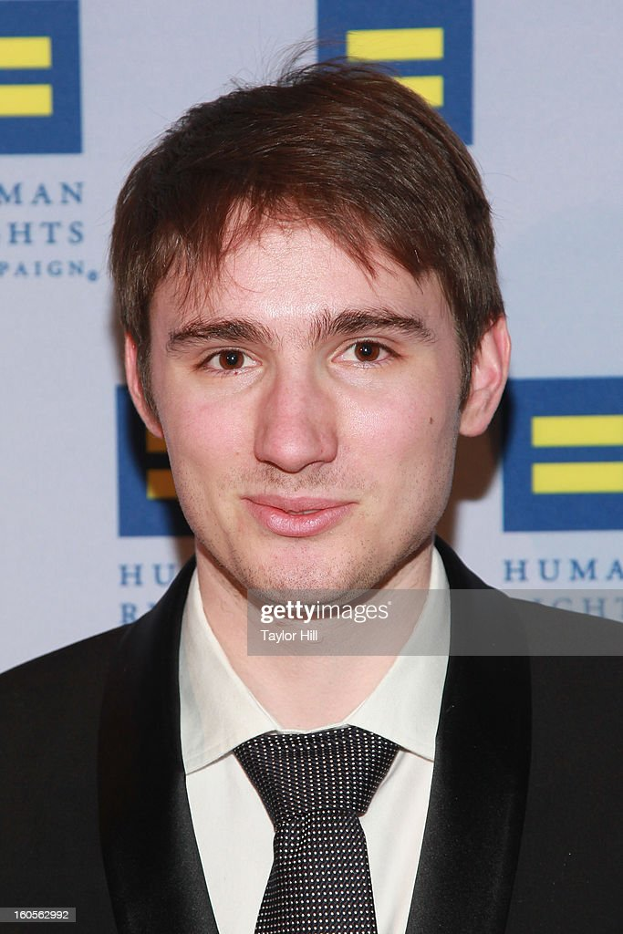 Sam Greisman, son of Sally Field, attends The 2013 Greater New York Human Rights Campaign Gala at The Waldorf=Astoria on February 2, 2013 in New York City.