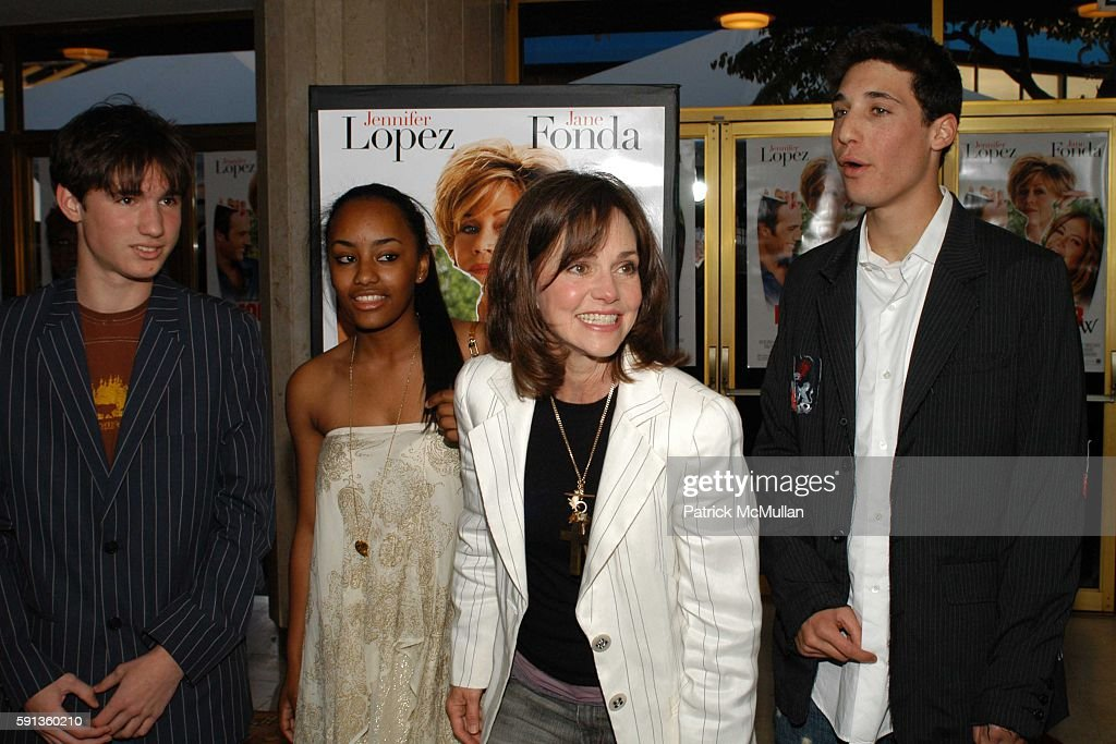 Sam Greisman son Sally Field and attend MonsterInLaw Los Angeles Premiere at Mann National Theatre on April 29 2005 in Los Angeles California