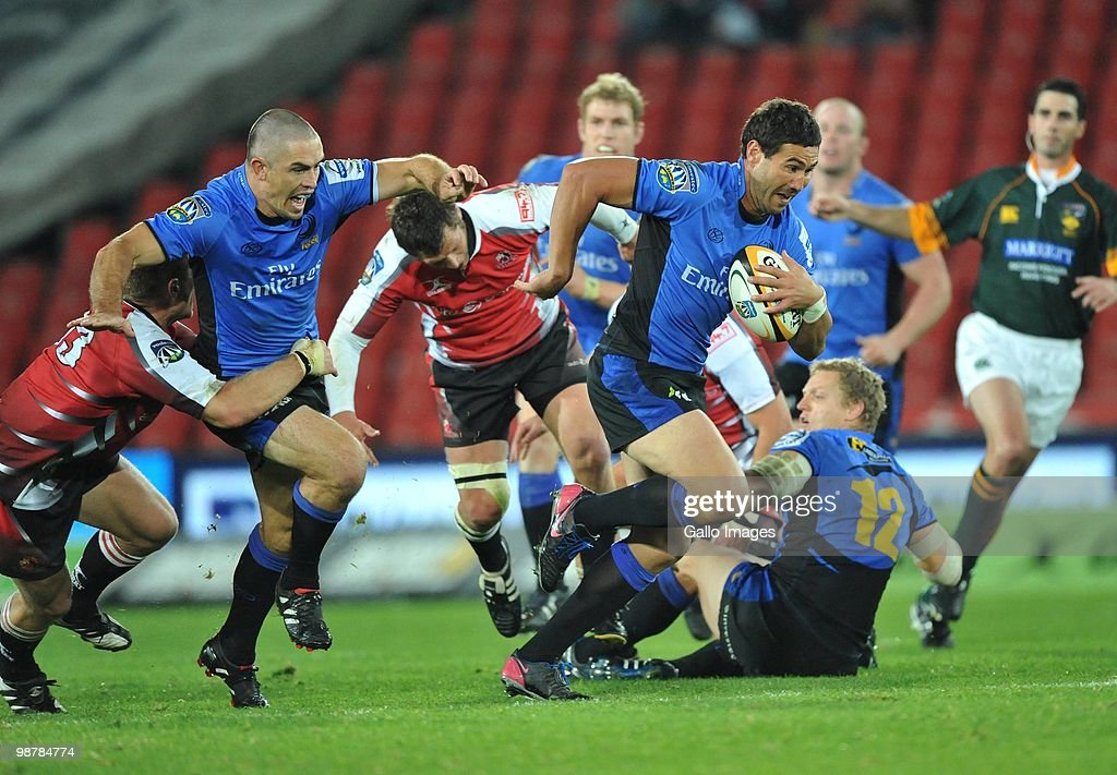 Super 14 Rd 12 - Lions v Western Force