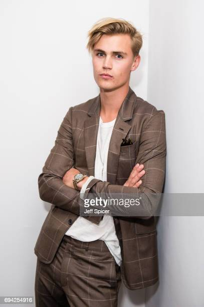 Sam Harwood attends the dunhill London presentation during the London Fashion Week Men's June 2017 collections on June 9 2017 in London England