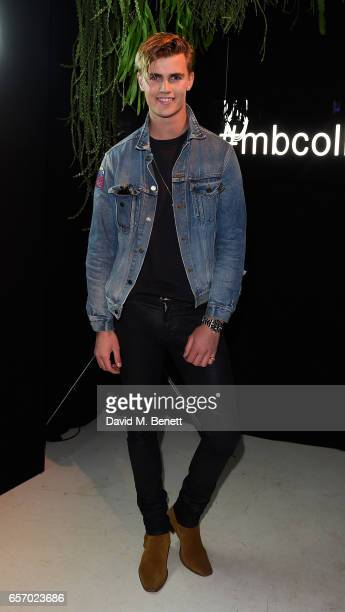 Sam Harwood attends the MercedesBenz #mbcollective launch party with MIA Tommy Genesis at 180 The Strand on March 23 2017 in London England