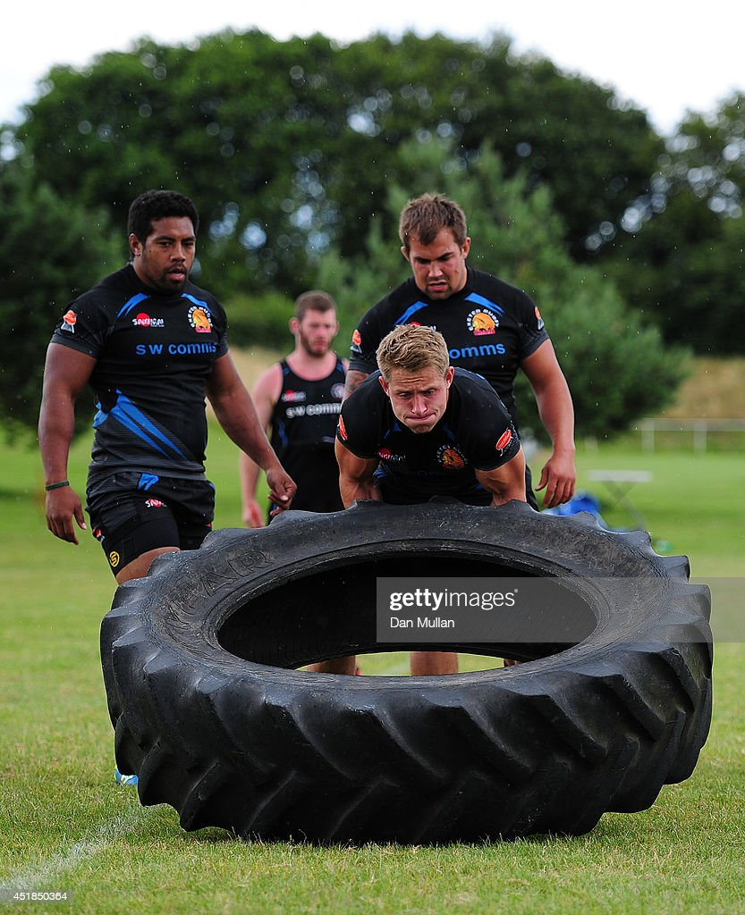 exeter chiefs training session photos and images getty images