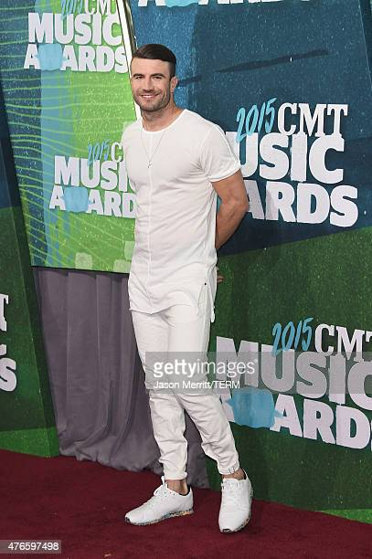 Sam Hunt attends the 2015 CMT Music awards at the Bridgestone Arena on June 10 2015 in Nashville Tennessee