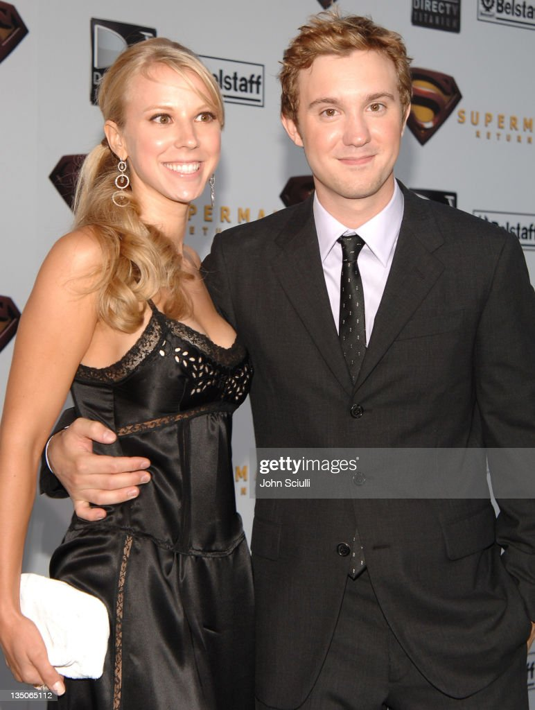 Sam Huntington and guest during 'Superman Returns' World Premiere Sponsored By Belstaff at Mann Village and Bruin Theaters in Westwood California...