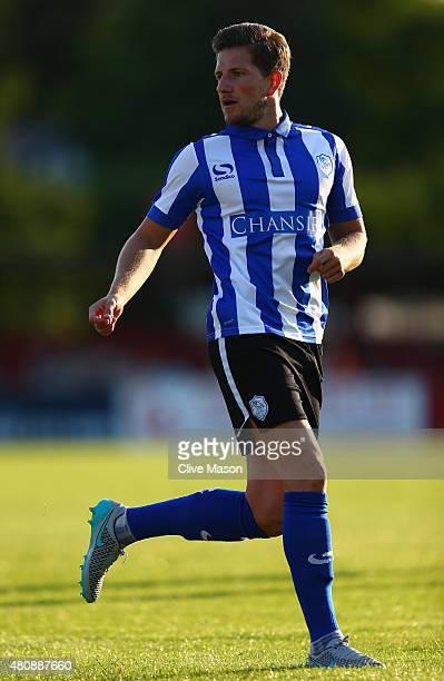 Sam Hutchinson of Sheffield Wednesday during the pre season friendly match between Ilkeston and Sheffield Wednesday at the New Manor Ground on July...