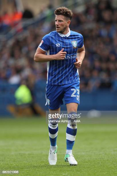 Sam Hutchinson of Sheffield Wednesday during the Sky Bet Championship match between Sheffield Wednesday and Fulham at Hillsborough on May 7 2017 in...