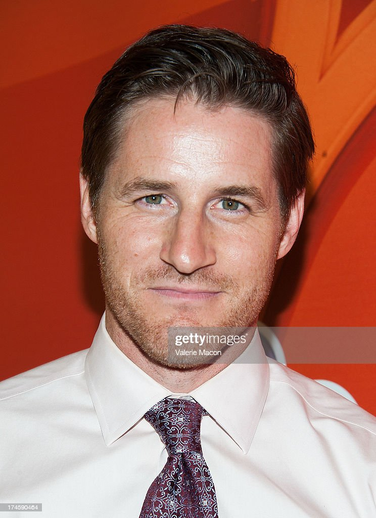 Sam Jaeger arrives at the NBCUniversal's '2013 Summer TCA Tour' at The Beverly Hilton Hotel on July 27, 2013 in Beverly Hills, California.