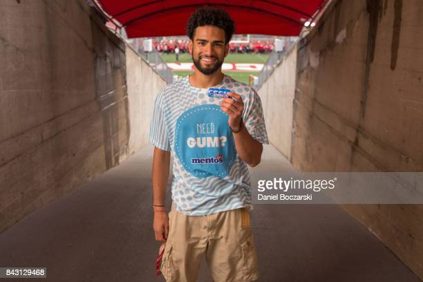 Sam Jeschke a freshman at the University of WisconsinMadison shared the last of 43000 bottles of Mentos Gum on September 5 2017 at Camp Randall...