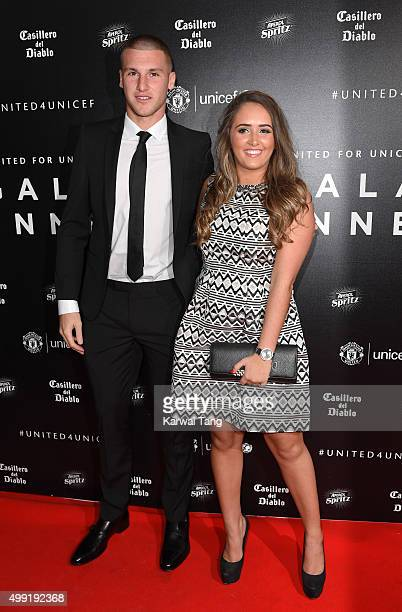 Sam Johnstone attends the United for UNICEF Gala Dinner at Old Trafford on November 29 2015 in Manchester England
