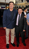 Sam Jones and Jason Clark attend the 'Ted' World Premiere held at Grauman's Chinese Theatre on June 21 2012 in Hollywood California