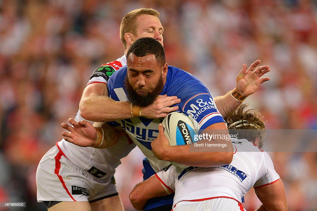 NRL Elimination Final - Bulldogs v Dragons