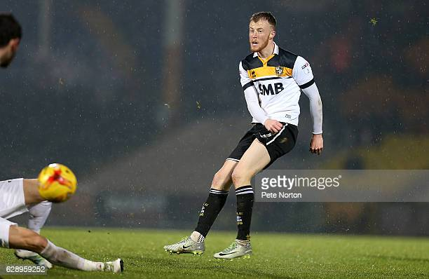 Sam Kelly of Port Vale in action during the Sky Bet League One match between Port Vale and Northampton Town at Vale Park on December 10 2016 in...