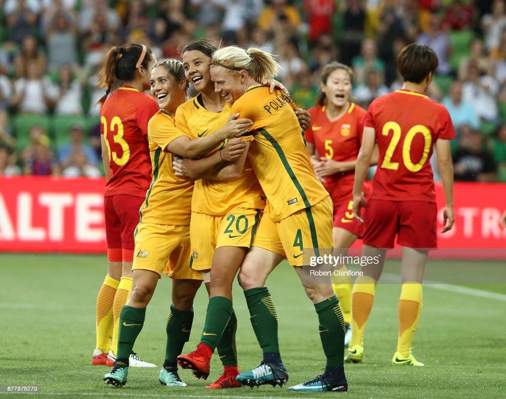Australia v China PR