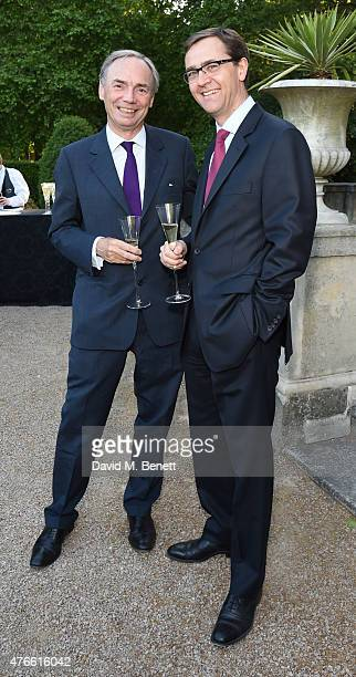 Sam Laidlaw and guest attend the Bell Pottinger Summer Party at Lancaster House on June 10 2015 in London England