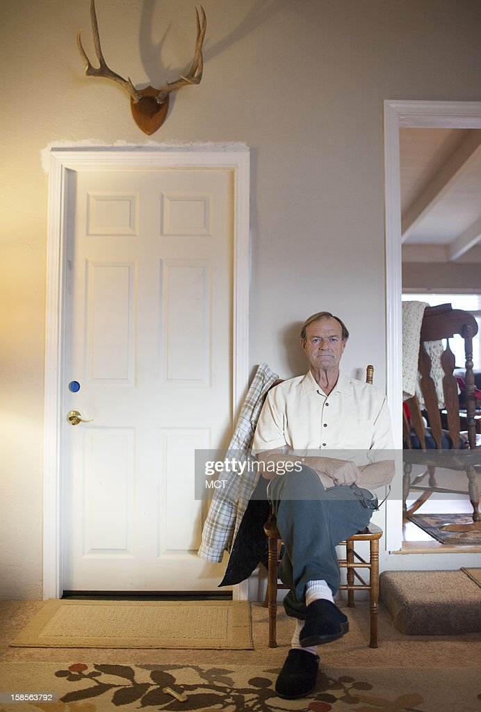 Sam Lewis, 65, had triple bypass surgery in late November. Just days before, when he first qualified for Medicare coverage, a checkup discovered three of his arteries were clogged with plaque. Lewis sits in his home in Brentwood, California, December 17, 2012.