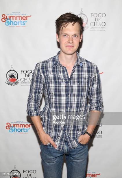 Sam Lilja attends the OffBroadway opening night party for 'SUMMER SHORTS 2017' at Fogo de Chao Churrascaria on August 7 2017 in New York City