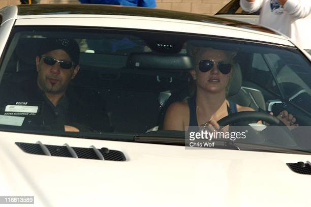 Sam Lutfi and Britney Spears leaving Petco November 17 2007 in Los Angeles California