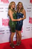 Sam Marchant and Amanda Marchant arrive at the BT Digital Music Awards at the Roundhouse on October 2 2007 in London England