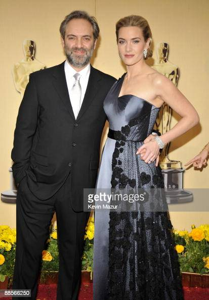 Sam Mendes and Kate Winslet arrives at the 81st Annual Academy Awards held at The Kodak Theatre on February 22 2009 in Hollywood California