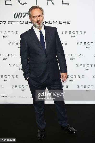 Sam Mendes attends a red carpet for 'Spectre' on October 27 2015 in Rome Italy